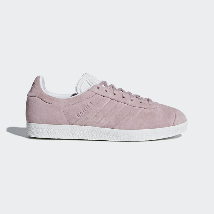 Adidas Gazelle Stitch and Turn Shoes Women's Originals Pink BB6708