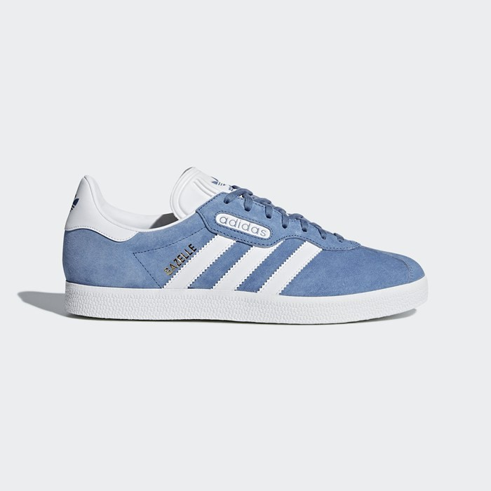 Adidas Gazelle Super Essential Shoes Originals Blue CQ2792