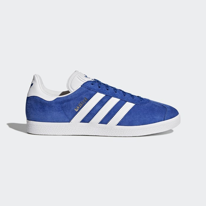 Adidas Gazelle Shoes Originals Blue S76227