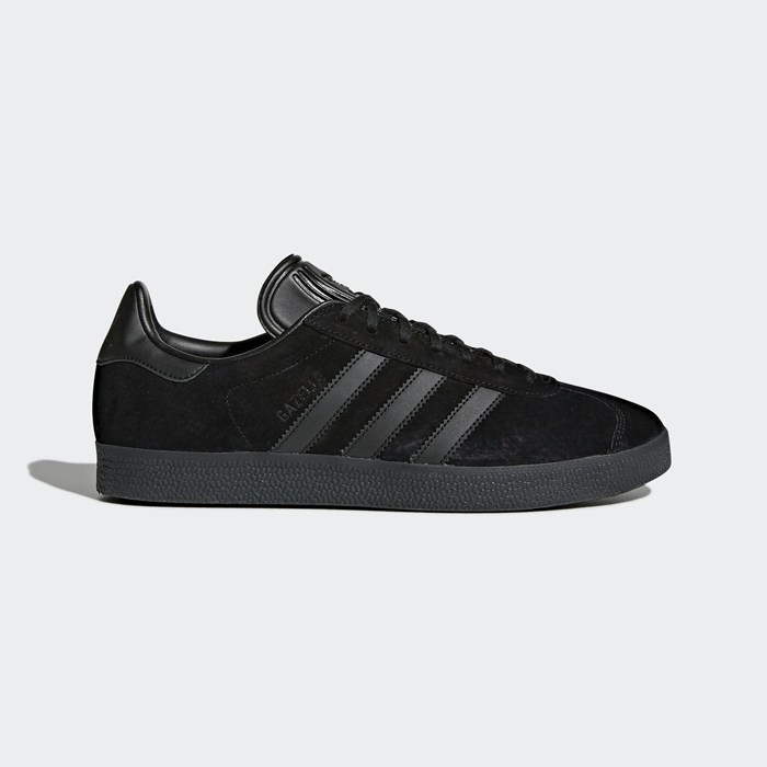 Adidas Gazelle Shoes Originals Black CQ2809