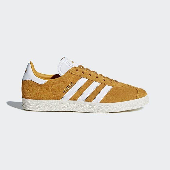 Adidas Gazelle Shoes Originals Yellow CQ2801