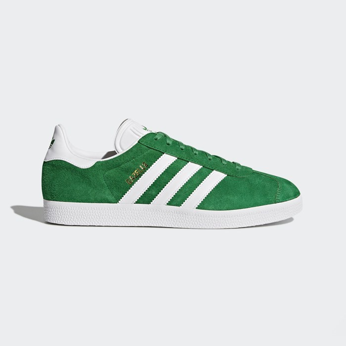 Adidas Gazelle Shoes Originals Green BB5477