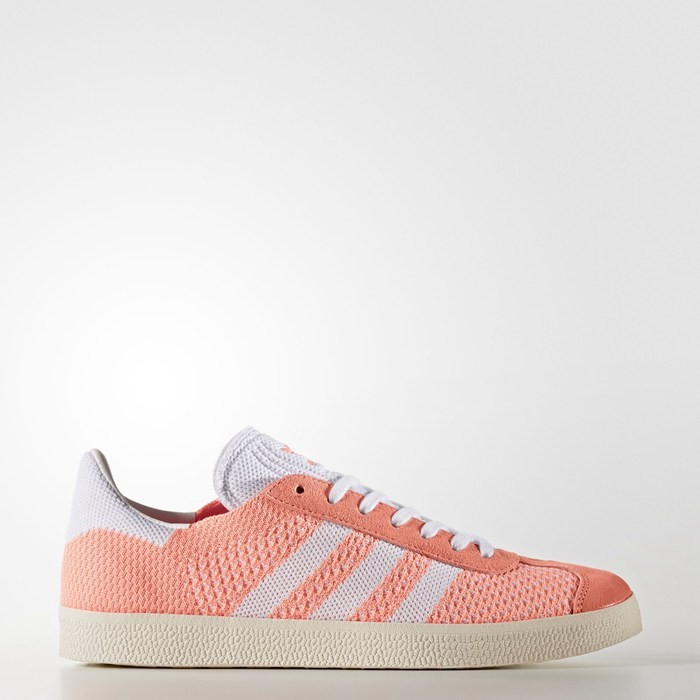 Adidas Gazelle Primeknit Shoes Women's Originals Orange BB5211