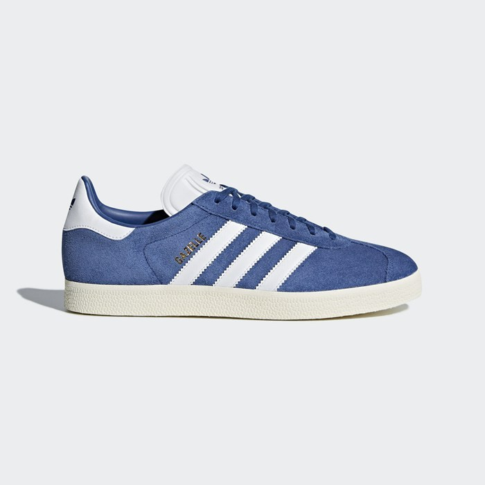 Adidas Gazelle Shoes Originals Blue CQ2800