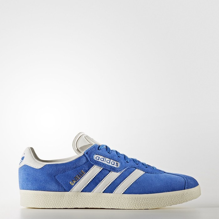 Adidas Gazelle Super Shoes Originals Blue BB5241