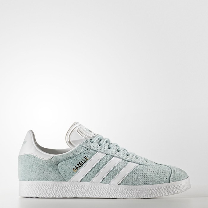 Adidas Gazelle Shoes Women's Originals Green BY9358