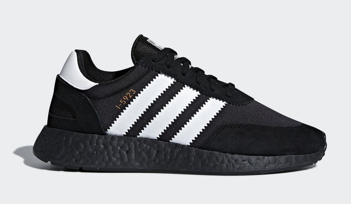 Adidas Originals I-5923 Black Sneakers CQ2490