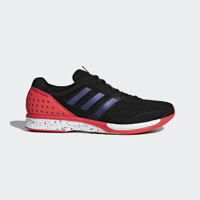 Adidas Adizero Takumi Ren 3 Shoes Men's Running Black BB6428