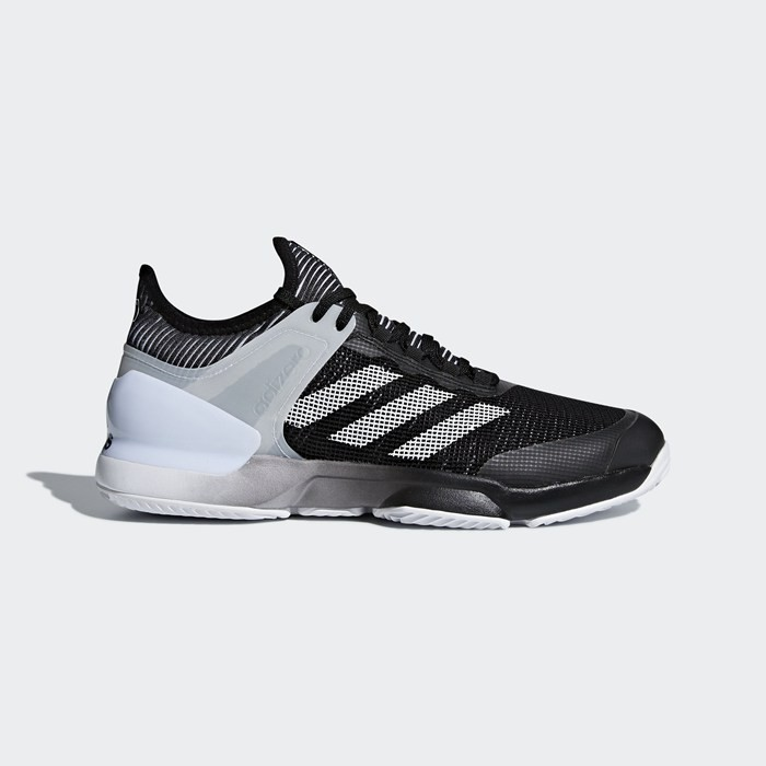 Adidas Adizero Ubersonic 2.0 Clay Shoes Men's Tennis Black CM7746