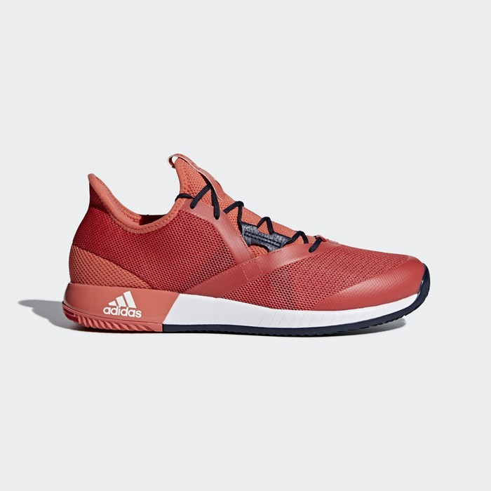 Adidas Adizero Defiant Bounce Shoes Men's Tennis Red CM7742