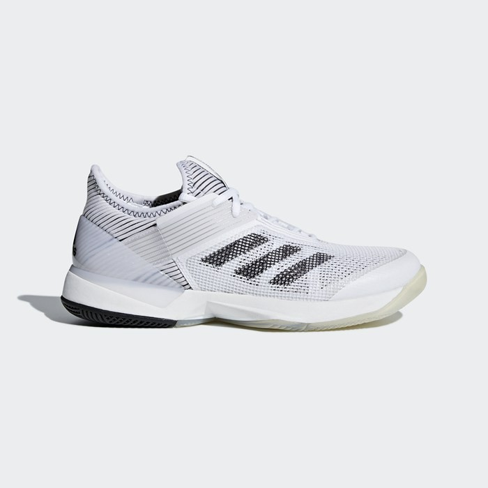 Adidas adizero Ubersonic 3.0 Shoes Women's Tennis White CM7752