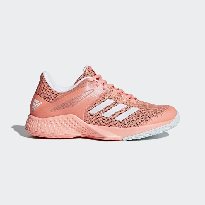Adidas Adizero Club Shoes Women's Tennis Orange CM7740