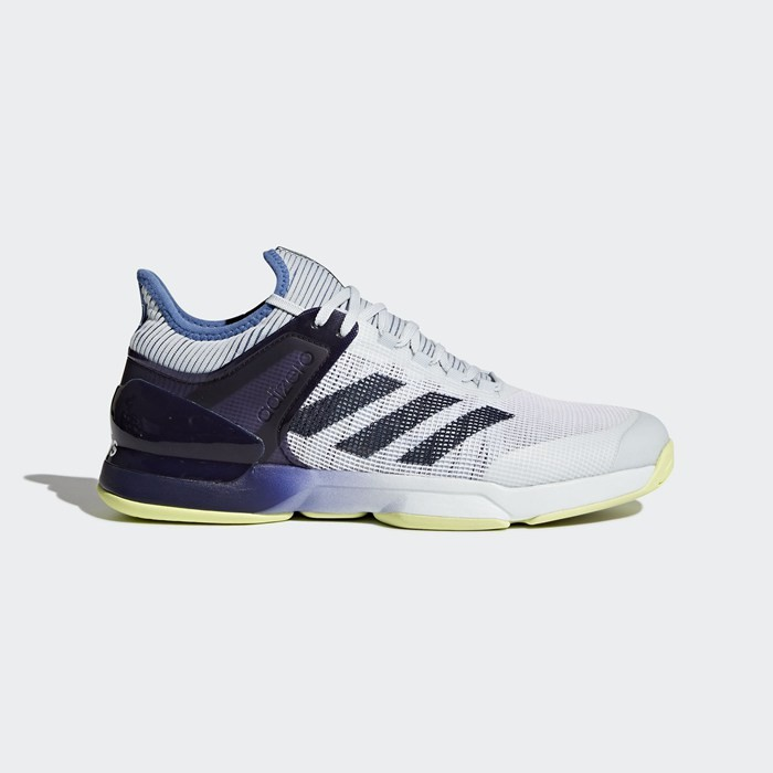 Adidas adizero Ubersonic 2.0 Shoes Men's Tennis Blue CM7437