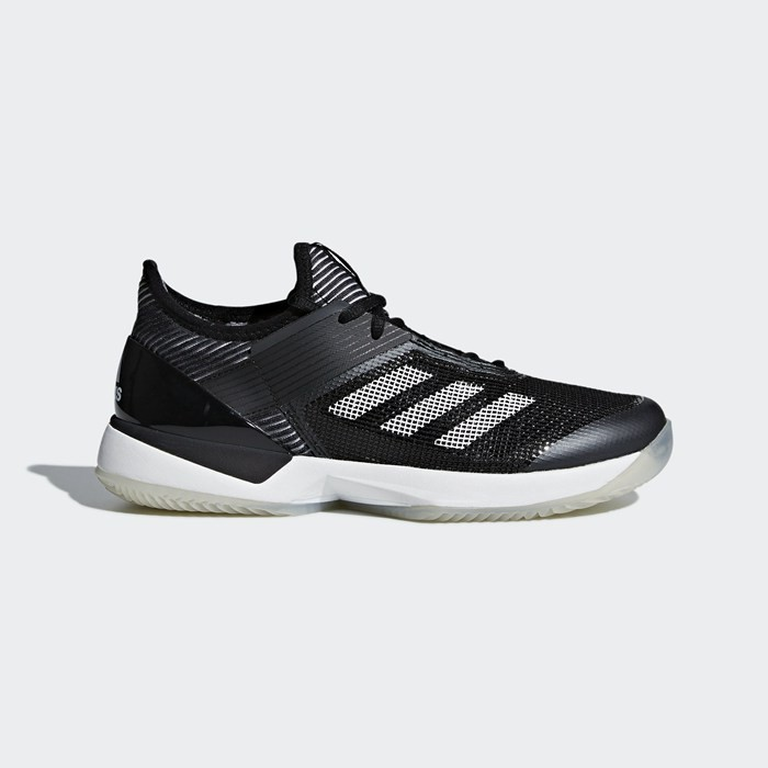 Adidas adizero Ubersonic 3.0 Clay Shoes Women's Tennis Black CM7753
