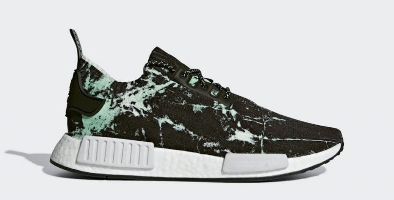 Adidas NMD R1 Primeknit Shoes Black BB7996