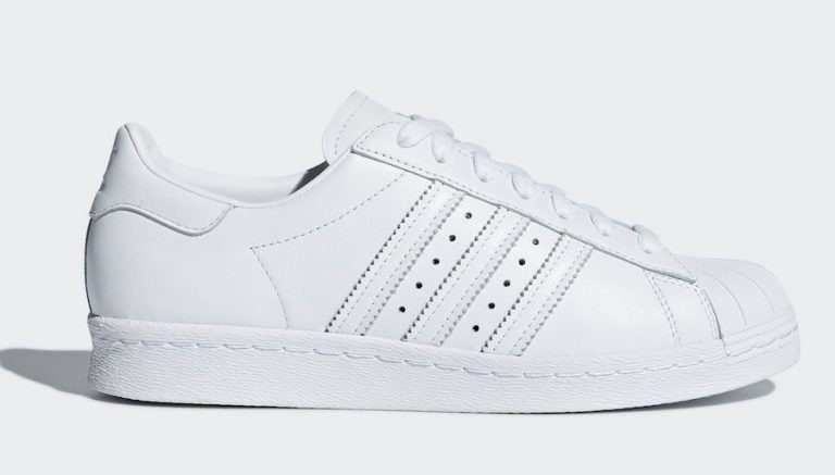 Adidas Originals Superstar 80s Half Heart Women's White CQ3009