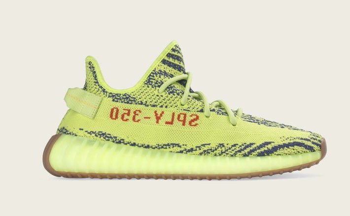 adidas Yeezy Boost 350 V2 Semi Frozen Yellow B37572
