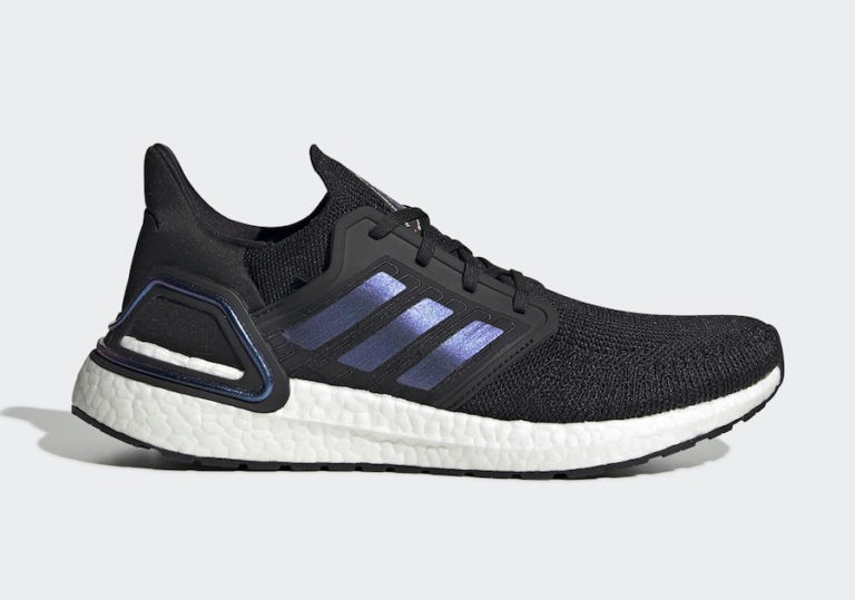 adidas Ultra Boost 2020 Core Black/Blue Violet Metallic EG0692