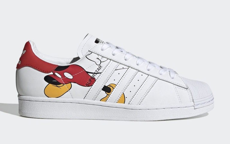 Mickey Mouse x adidas Superstar White FW2901