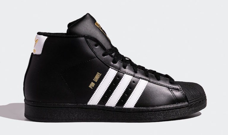 adidas Pro Model Core Black/Footwear White-Gold Foil FV5723