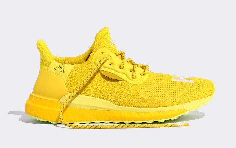 adidas Solar Hu Glide Pharrell Inner Light Pack Yellow - EF2379