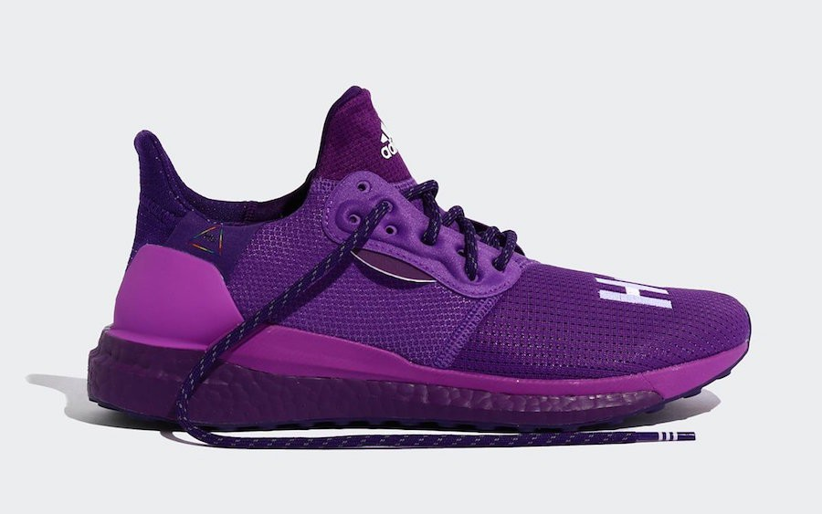 Pharrell Williams adidas Solar Hu Glide Purple EG7770