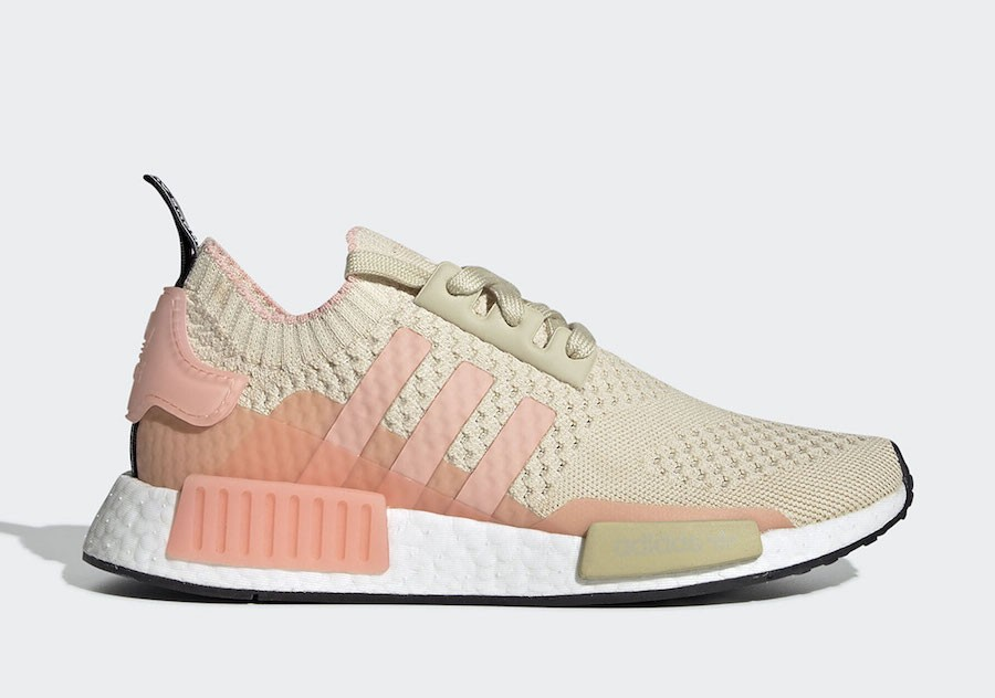 adidas NMD R1 Desert Sand Glow Pink (W) - EE6434