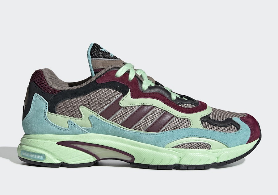 adidas Temper Run Maroon Sea Green EE7741