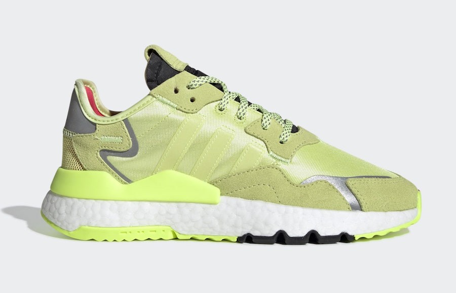 adidas Nite Jogger Semi Frozen Yellow EE5911