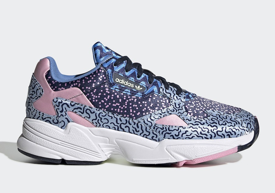 adidas Falcon Blue Pink EE7098