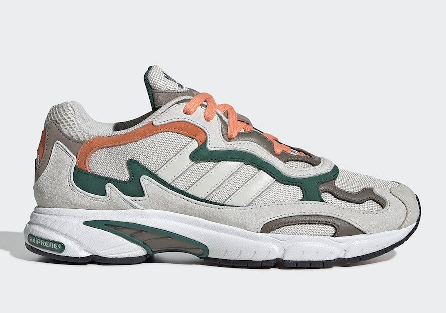 adidas Temper Run Grey/Green/Orange EE7740