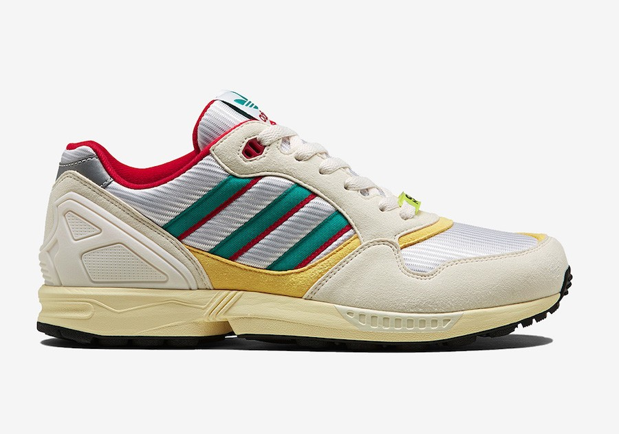 adidas ZX6000 OG Cream Red Yellow FU8405
