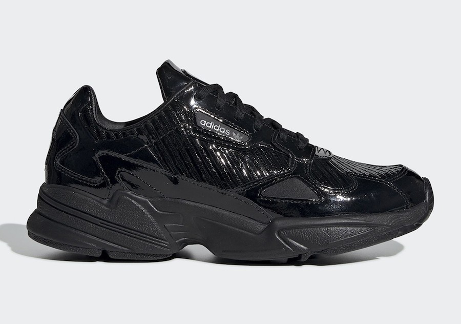 adidas Originals Falcon W Black Sneakers CG6248