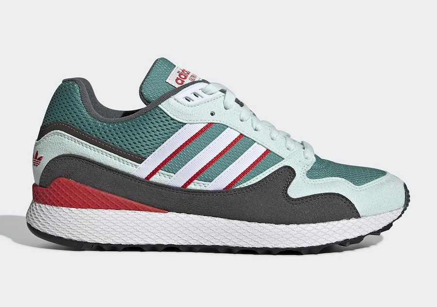 adidas Ultra Tech Green/Grey/Red BD7936