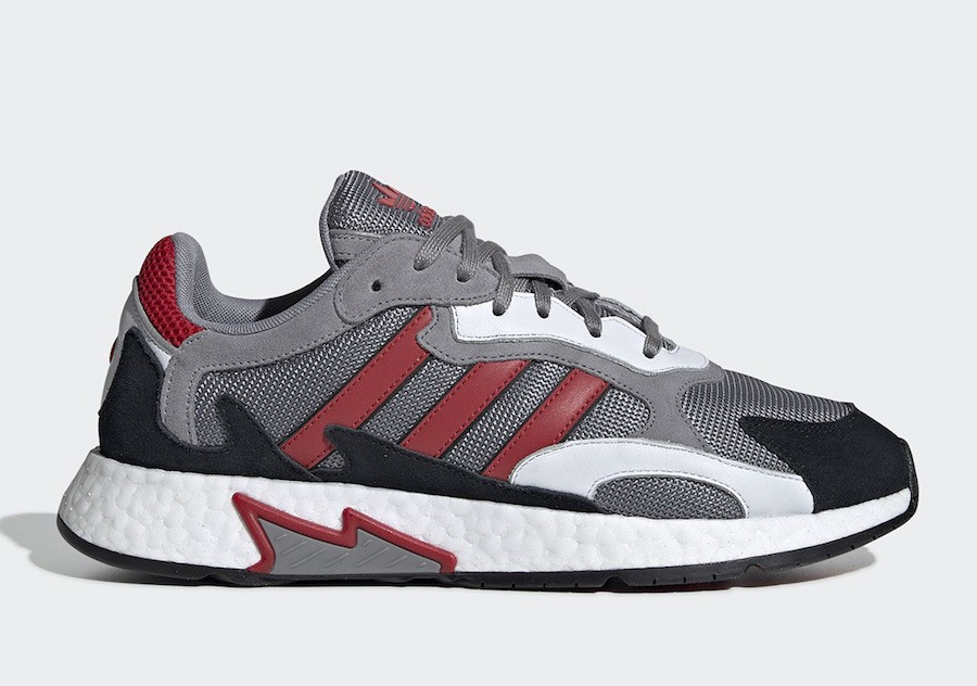 adidas Tresc Run Grey Scarlet Core Black EF0765