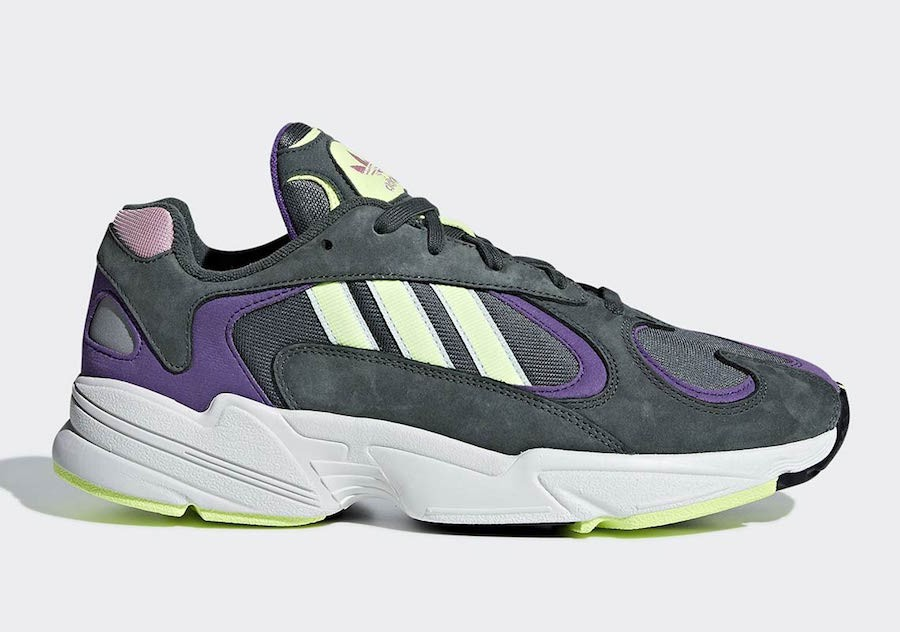 adidas Yung 1 Green Purple BD7655