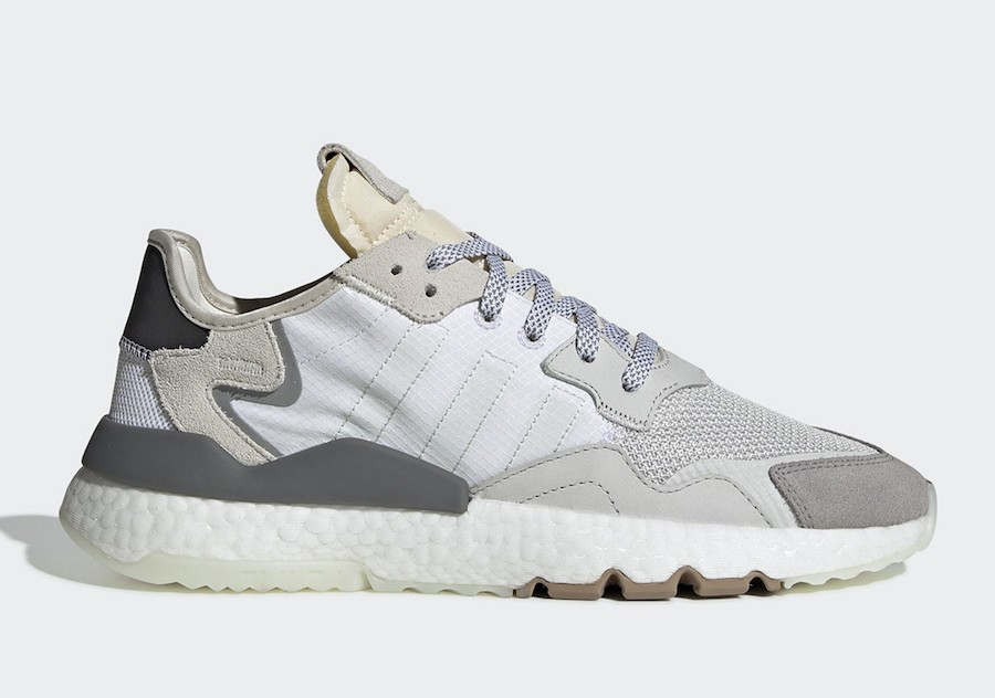 Adidas Originals Nite Jogger Boost Grey White CG5950