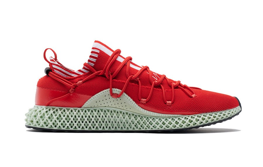Adidas Y-3 Futurecraft 4D F99805 Red
