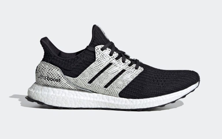 adidas Ultra Boost Snakeskin Black White - FX8933