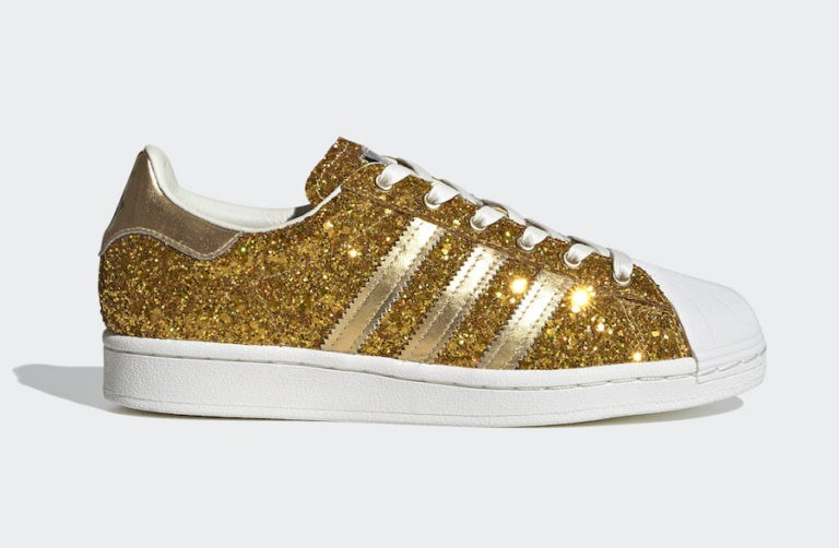 adidas Superstar WMNS Gold Metallic FW8168