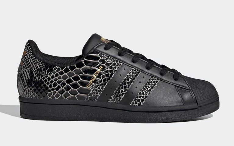 adidas Superstar Snakeskin Black FV3290