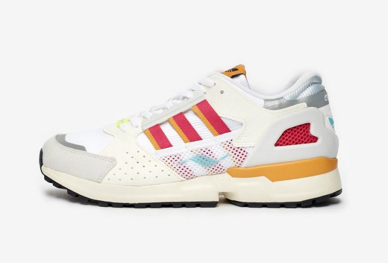 adidas Originals ZX 10,000 C White Sneakers FV6308