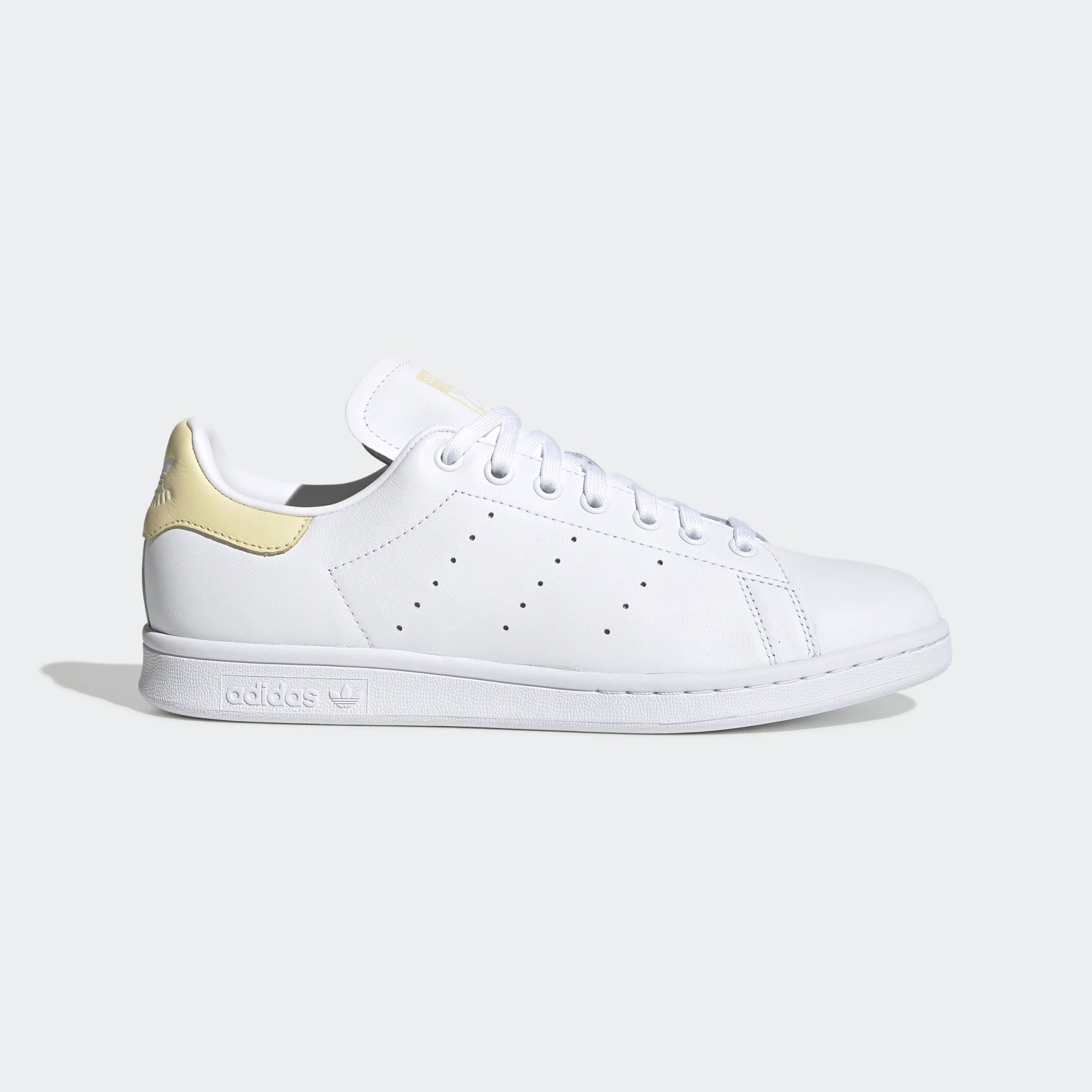 Adidas Stan Smith Footwear White/Easy Yellow - EF4335