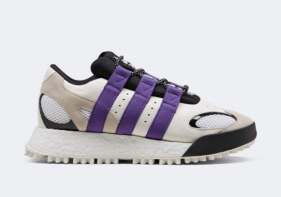 adidas AW Wangbody Run Alexander Wang White Purple - EF2437