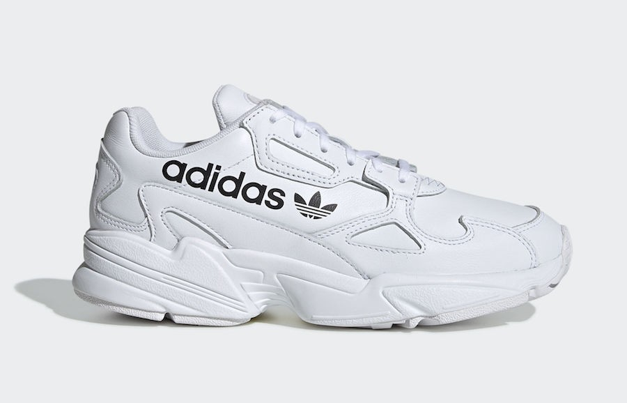 adidas Falcon Big Logo White (W) - EG7652