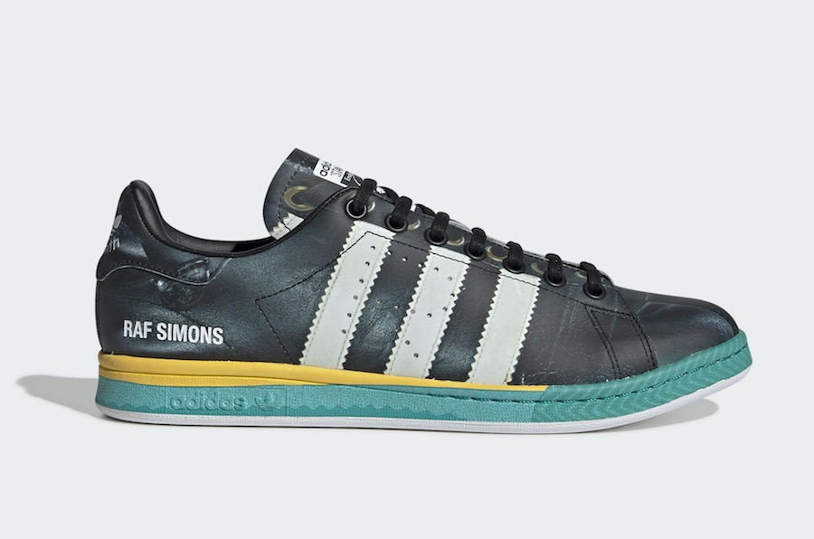 adidas by Raf Simons RS Samba Stan | Black | Sneakers | EE7954