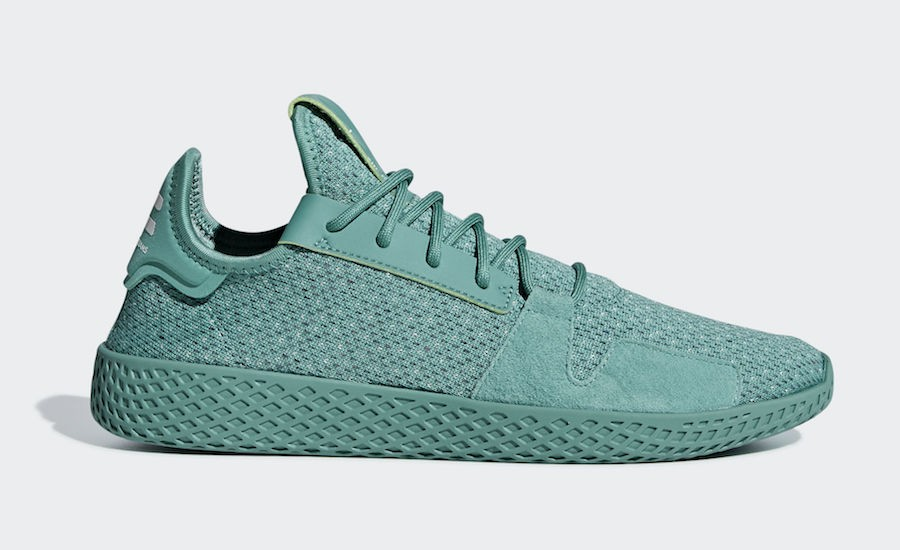 adidas Pharrell Williams Tennis Hu V2 Shoes DB3328 Green