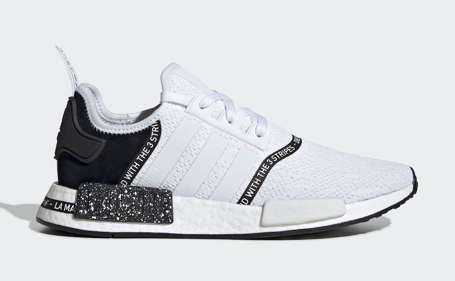 adidas NMD R1 Speckle Pack White - EF3326