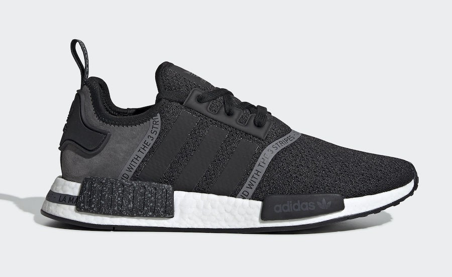 adidas NMD R1 Speckle Pack Black - F36801