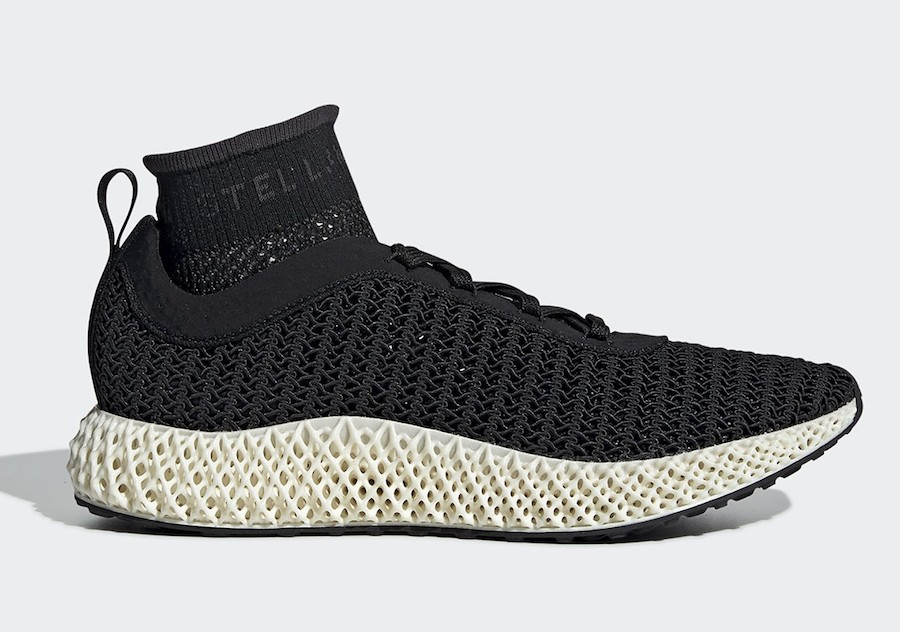 adidas Alphaedge 4D Stella McCartney Core Black (W) - BB7959
